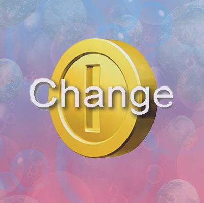 מטבע וירטואלי: שינוי –  change