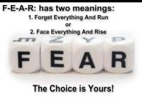 fear face run